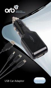 orb usb billader med nintendo ds, dsi, 3ds, ds lite og psp kabel - Mobil Og Tilbehør