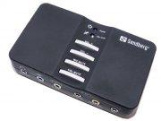 sandberg usb sound box 7.1 - lydkort - Gaming