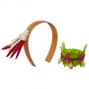 vaiana udklædning - hårbånd og armbånd - Dukker