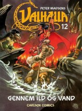 valhalla 12: gennem ild og vand - bog