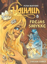 valhalla 8: frejas smykke - bog