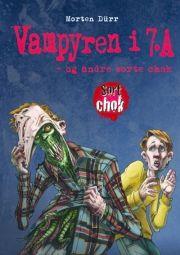 vampyren i 7.a - og andre sorte chok - bog