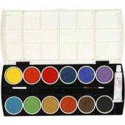 vandfarve palette - Kreativitet