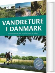 vandreture i danmark - bog