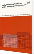vedligeholdelse og forbedringer i ældre, private andelsboligejendomme - bog