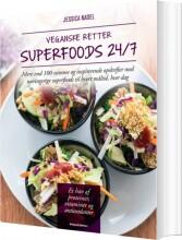 veganske retter - superfoods 24/7 - bog