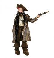 jack sparrow pirat kostume - veneziano - 6 år - Udklædning