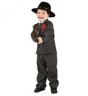 gangster kostume - veneziano - 5 år - Udklædning