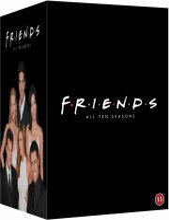 venner dvd box - sæson 1-10 i boks - DVD