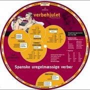 verbehjulet, spanske uregelmæssige verber - bog