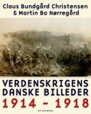 verdenskrigens danske billeder - bog