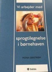 vi arbejder med sprogtilegnelse i børnehaven - bog