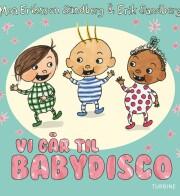 vi går til babydisco - bog