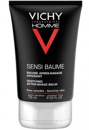 vichy homme sensitive balm soothing aftershave - 75 ml - Hudpleje