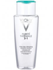vichy purete thermale 3 in 1 calming cleansing micellar solution - 200 ml - Hudpleje