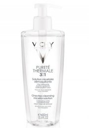 vichy purete thermale 3 in 1 calming cleansing micellar solution - 400 ml - Hudpleje