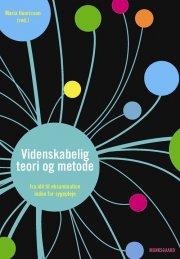 videnskabelig teori og metode - bog