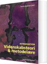 videnskabsteori og metodelære introduktion - bog