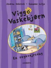 viggo vaskebjørn - en regnvejrsdag - bog