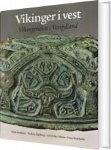 vikinger i vest - bog
