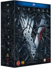 vikings - sæson 1-4 - Blu-Ray