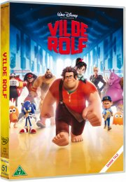 vilde rolf / wreck-it ralph - disney - DVD