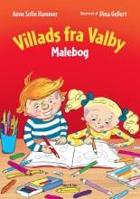 villads fra valby malebog - bog