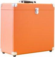 lp opbevaring / vinyl kasse - orange - Vinyl / LP