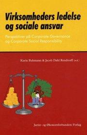 virksomheders ledelse og sociale ansvar - bog