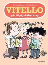 vitello går til pigefødselsdag - bog