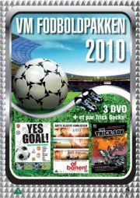 vm fodboldpakken 2010 - yes goal / af banen / the trick-sok - DVD