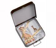 vulli sophie giraf / giraffen sophie - bidedyr til baby i gaveæske - Babylegetøj