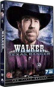 walker texas ranger - sæson 5 - DVD