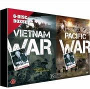 walter cronkite - vietnam war // pacific war - boks - DVD