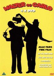 walter og carlo: op på fars hat // kampen om den røde ko // yes det er far // i amerika - DVD