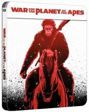 war for the planet of the apes / abernes planet: opgøret - limited steelbook edition - Blu-Ray