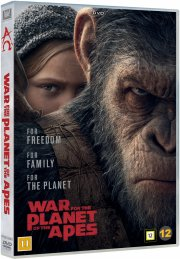 war for the planet of the apes / abernes planet: opgøret - DVD