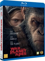 war for the planet of the apes / abernes planet: opgøret - Blu-Ray