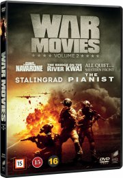 war movies box - vol. 2 - DVD