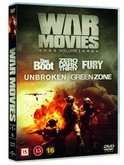 fury // das boot // zero dark thirty // unbroken // green zone - DVD