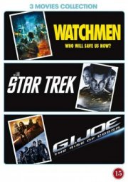 watchmen // star trek // g.i. joe - the rise of cobra - DVD