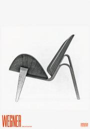 hans wegner plakat - den todelte skalstol - Til Boligen