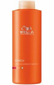 wella professionals care enrich conditioner til tørt og kraftigt hår - 1000 ml. - Hårpleje