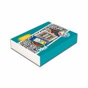 west design - sæt med malebog og 12 fc art grip - geometric meditations - Kreativitet