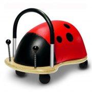 wheely bug mariehøne / ladybug - stor - Babylegetøj