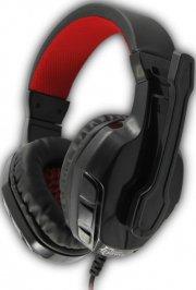 white shark panther gamer headset i hvid/sølv - Gaming