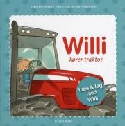 willi kører traktor - bog