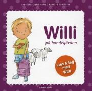 willi på bondegården - bog