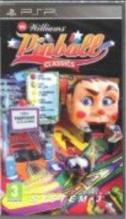 williams pinball classics - psp