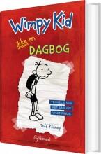 wimpy kid 1 - ikke en dagbog - bog